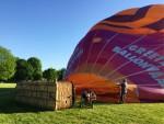 Bijzondere ballon vaart startlocatie Maastricht maandag 7 mei 2018