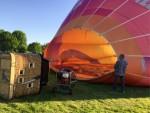 Uitzonderlijke luchtballon vaart omgeving Maastricht maandag 7 mei 2018