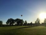 Verbluffende heteluchtballonvaart in de buurt van Maastricht maandag 7 mei 2018