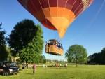 Bijzondere luchtballon vaart vanaf opstijglocatie Maastricht maandag 7 mei 2018