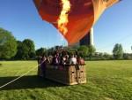 Super ballonvaart in de regio Maastricht maandag 7 mei 2018