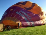 Grandioze luchtballonvaart boven de regio Maastricht maandag 7 mei 2018