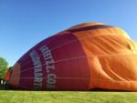Verbluffende heteluchtballonvaart vanaf opstijglocatie Maastricht maandag 7 mei 2018