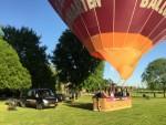 Mooie ballon vaart in de omgeving van Maastricht maandag 7 mei 2018
