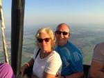 Exceptionele ballon vlucht in Tilburg maandag 7 mei 2018