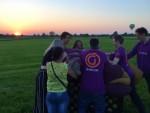 Prettige ballonvlucht boven de regio Tilburg maandag 7 mei 2018