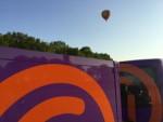 Bijzondere ballon vlucht opgestegen in Tilburg maandag 7 mei 2018