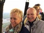 Sublieme ballon vaart opgestegen in Arnhem op maandag  8 oktober 2018
