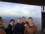 Magnifieke ballonvlucht omgeving Arnhem op maandag  8 oktober 2018