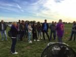 Adembenemende ballonvlucht regio Deurne op maandag  8 oktober 2018