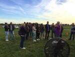 Verrassende ballonvlucht vanaf startveld Deurne op maandag 8 oktober 2018