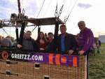Onovertroffen ballonvaart gestart op opstijglocatie Deurne op maandag 8 oktober 2018