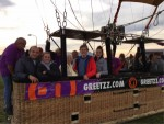 Onovertroffen ballon vaart opgestegen op startlocatie Deurne op maandag 8 oktober 2018