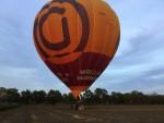 Magnifieke heteluchtballonvaart startlocatie Deurne op maandag 8 oktober 2018