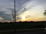 Weergaloze luchtballon vaart gestart op opstijglocatie Tilburg op maandag 8 oktober 2018