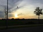 Comfortabele heteluchtballonvaart startlocatie Tilburg op maandag 8 oktober 2018