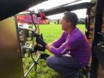Mooie ballon vlucht gestart in Goirle vrijdag 1 september 2017