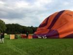 Prachtige ballon vaart gestart op opstijglocatie Goirle vrijdag 1 september 2017