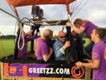 Magnifieke heteluchtballonvaart in de omgeving Goirle vrijdag 1 september 2017