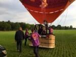 Meesterlijke ballonvlucht omgeving Goirle vrijdag 1 september 2017
