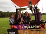 Grandioze ballonvaart omgeving Goirle vrijdag 1 september 2017