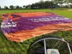 Adembenemende heteluchtballonvaart in de regio Goirle vrijdag 1 september 2017
