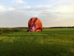 Fantastische ballon vaart in Goirle vrijdag  1 september 2017