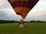 Bijzondere ballon vaart boven de regio Goirle vrijdag 1 september 2017