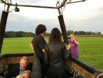 Schitterende heteluchtballonvaart in Goirle vrijdag 1 september 2017
