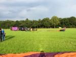 Buitengewone luchtballonvaart in de buurt van Goirle vrijdag 1 september 2017