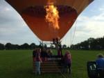 Prachtige luchtballonvaart boven de regio Goirle vrijdag 1 september 2017