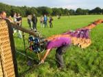 Indrukwekkende heteluchtballonvaart vanaf opstijglocatie Goirle vrijdag 1 september 2017
