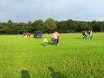 Onovertroffen luchtballonvaart gestart op opstijglocatie Goirle vrijdag 1 september 2017