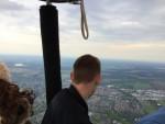 Bijzondere ballonvlucht startlocatie Tilburg op vrijdag 10 mei 2019