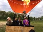 Waanzinnige ballonvlucht opgestegen op opstijglocatie Tilburg op vrijdag 10 mei 2019