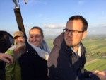 Verrassende ballon vlucht in de omgeving van Woerden op vrijdag 10 mei 2019