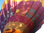 Indrukwekkende heteluchtballonvaart gestart in Woerden op vrijdag 10 mei 2019
