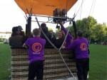 Hoogstaande ballonvaart vanaf startveld Woerden op vrijdag 10 mei 2019