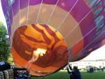 Plezierige luchtballon vaart regio Woerden op vrijdag 10 mei 2019