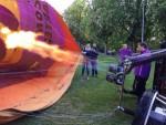 Overweldigende heteluchtballonvaart opgestegen op startlocatie Woerden op vrijdag 10 mei 2019