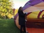 Uitstekende ballonvlucht opgestegen op startlocatie Woerden op vrijdag 10 mei 2019