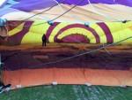 Jaloersmakende luchtballonvaart in de buurt van Woerden op vrijdag 10 mei 2019