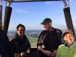 Feestelijke luchtballonvaart vanaf startlocatie Woerden op vrijdag 10 mei 2019