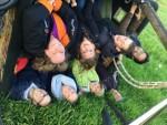 Overweldigende luchtballonvaart vanaf startlocatie Woerden op vrijdag 10 mei 2019