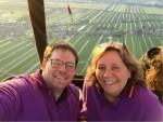 Prettige ballon vaart regio Woerden op vrijdag 10 mei 2019