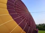 Ongekende luchtballon vaart opgestegen op startlocatie Beesd vrijdag 11 mei 2018