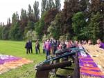 Fabuleuze ballonvlucht vanaf startveld Beesd vrijdag 11 mei 2018