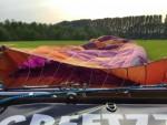 Verrassende heteluchtballonvaart boven de regio Beesd vrijdag 11 mei 2018