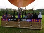 Fenomenale ballon vaart vanaf startlocatie Beesd vrijdag 11 mei 2018