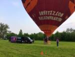 Prettige ballon vlucht in de omgeving Beesd vrijdag 11 mei 2018